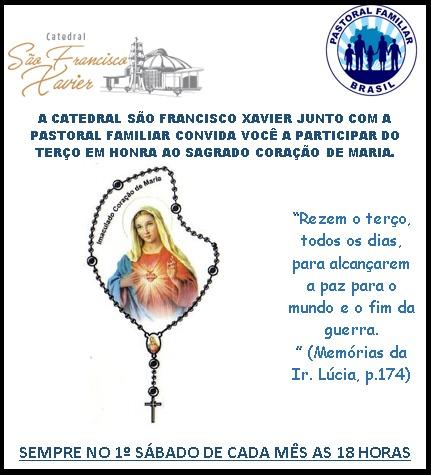 Terço em Honra ao Sagrado Coração de Maria