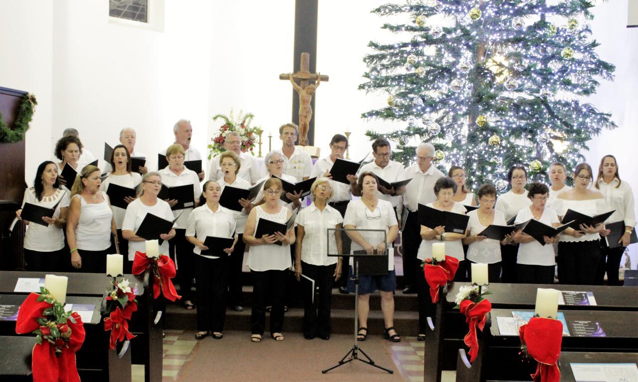 Coral da Catedral canta na Igreja da Paz