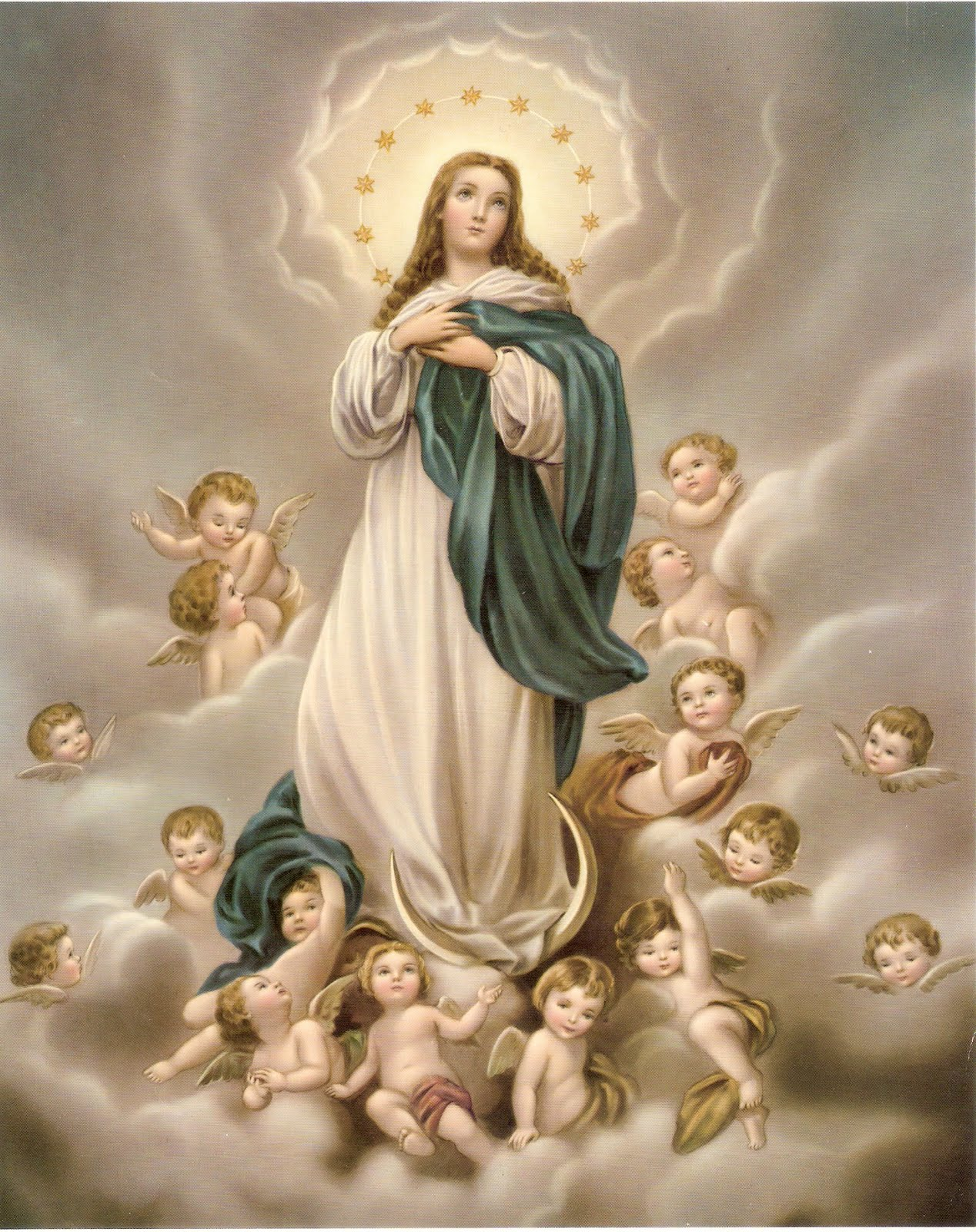 Solenidade da Imaculada Conceição de Nossa Senhora.