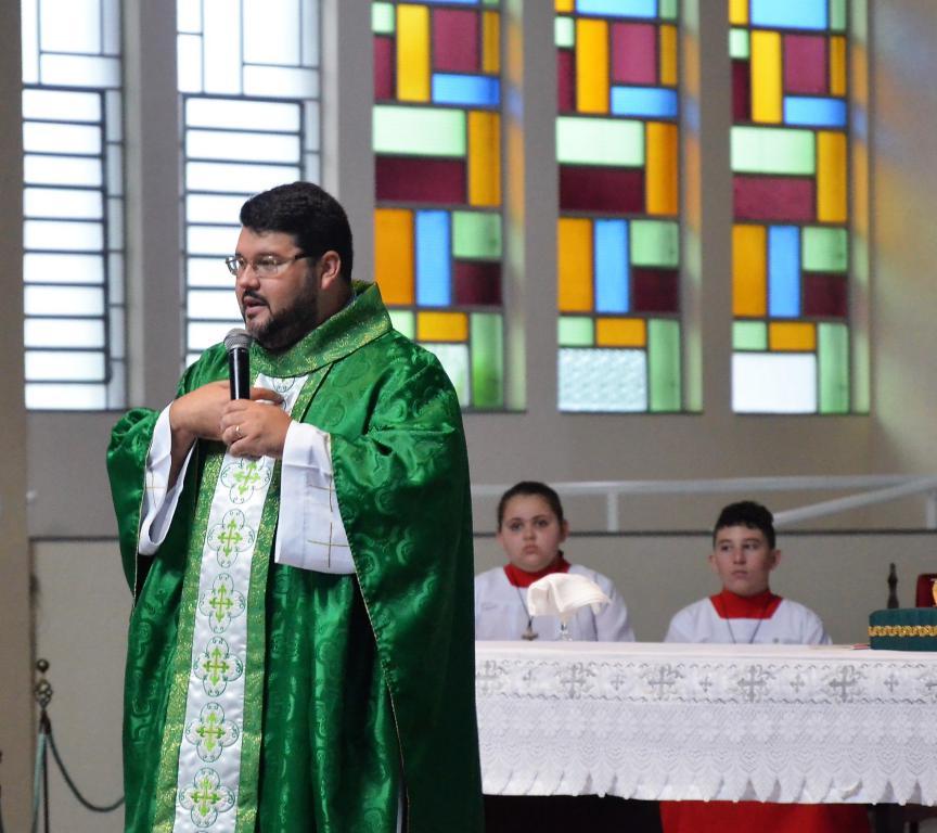 Padre Gilson Pereira da Diocese de Criciúma