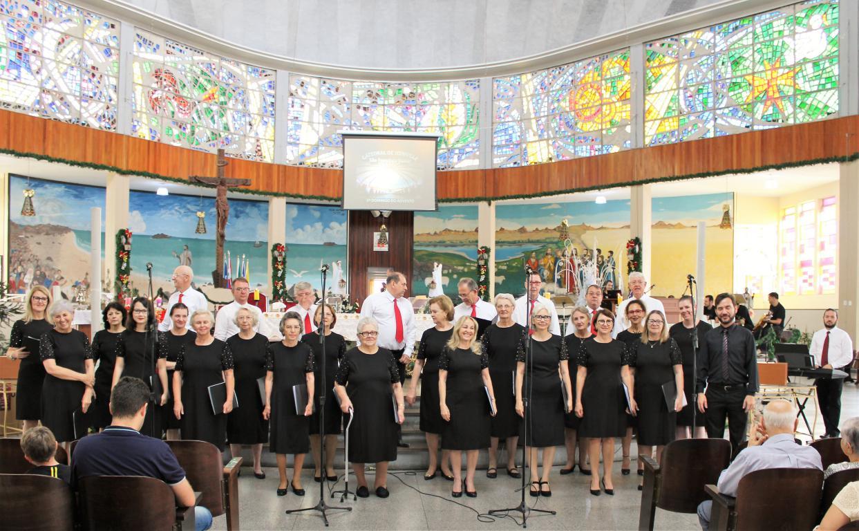 Coral da Paz na Catedral