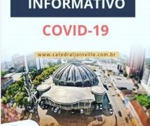 HORÁRIOS ESPECIAIS DA CATEDRAL - em função da COVID-19